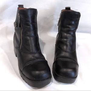 Vintage 90's Black Leather Harley Davidson Boots